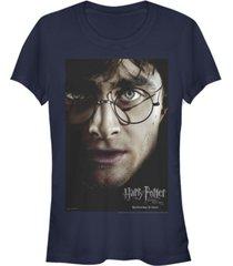 fifth sun harry potter deathly hallows poster women's short sleeve t-shirt