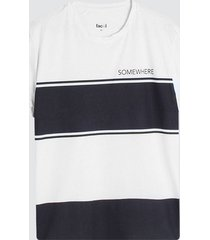 camiseta hombre somewhere color blanco, talla l
