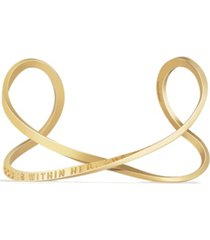 mantraband women's god is within her, she will not fall infinity bracelet