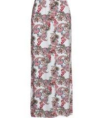 skirt-jersey lång kjol multi/mönstrad brandtex