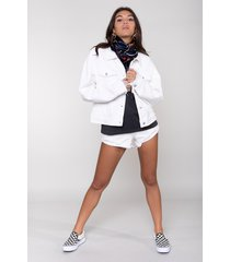 colourful rebel 10255 spijkerjack rebelle denim jacket white colourful rebel