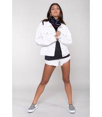 colourful rebel 10255 spijkerjack rebelle denim jacket white colourful rebel