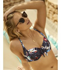 milano balcony bikini top