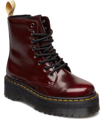 v jadon ii cherry red oxford rub off shoes boots ankle boots ankle boot - flat röd dr. martens