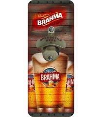 abridor de garrafa de parede brahma kasa ideia
