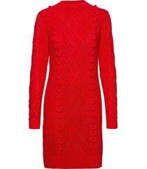dress cami knälång klänning röd lindex
