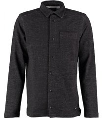 only & sons zwart warm sweater overhemd
