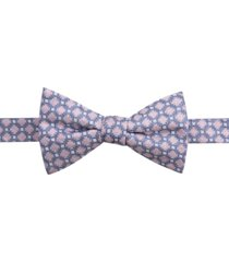 ryan seacrest distinction men's bona pre-tied neat jaspe bow tie, created for macy's