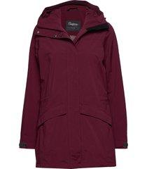 oslo 2l w coat outerwear sport jackets röd bergans