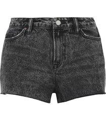 allsaints denim shorts