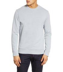 men's club monaco crewneck sweatshirt, size x-small - blue