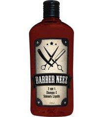 neez barber 2 em 1 - shampoo & sabonete líquido 240ml