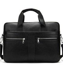 bolso maletín hombre negocios 2019 negro