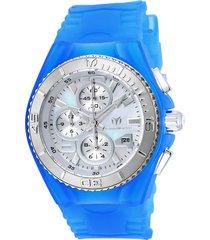 reloj technomarine tm-115262 azul silicona