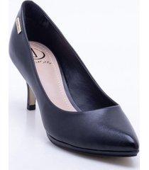 zapatos formales para mujer marca dumond dumond - negro