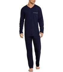seidensticker single jersey long pyjama