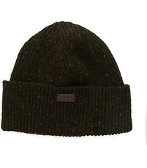 lowerfel donegal-knit beanie