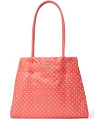 kate spade new york everything puffy printed large tote