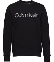 cotton logo sweatshi sweat-shirt trui zwart calvin klein