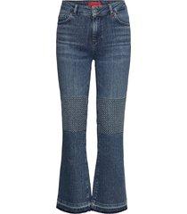 fossile jeans wijde pijpen blauw max&co.