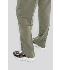 trendyol snake sneaker - grey