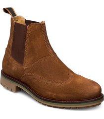 borrel mid laceboot shoes chelsea boots brun scotch & soda shoes