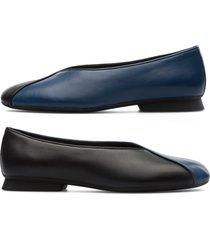 camper twins, zapatos planos mujer, azul/negro, talla 41 (eu), k201082-001