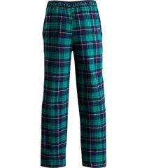 bjorn borg pyjamabroek flanel groen
