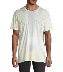 zadig & voltaire men's graphic cotton tee - pale yellow - size s