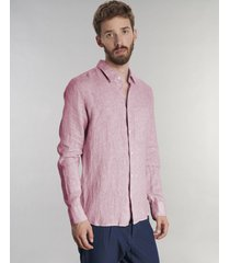 koszula feel good pink linen