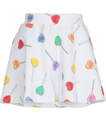 love moschino cotton skirt