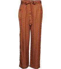 aila pants wijde broek bruin lollys laundry