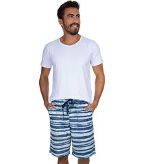 pijama curto inspirate summer multicolorido