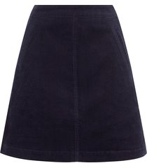 pocket cord skirt