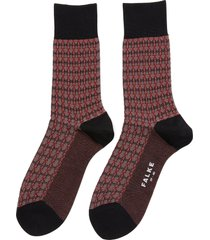 'infrastructure' jacquard pattern socks