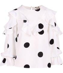 jovonna london mexika polyester blouse