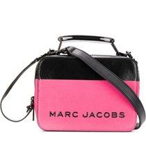 marc jacobs bolsa tote color block dipped - rosa