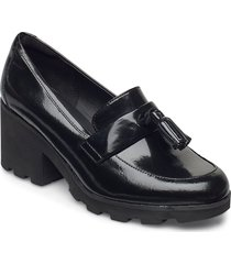 rene loafer shoes heels pumps classic svart clarks