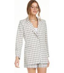 danielle bernstein structured blazer, created for macy's