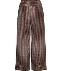 branley trousers wijde broek bruin second female