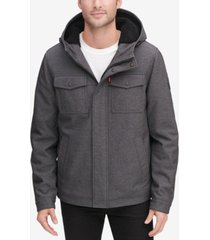 levi's men's soft shell trucker jacket