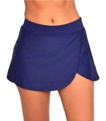 bikini short falda azul marino samia