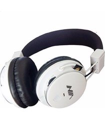 audifonos beats inalambrico bluetooth fm micro sd nia q8-blanco-negro