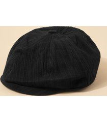 casual twist stripes newsboy cap