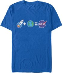 nasa men's emoji story short sleeve t-shirt