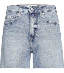 mom short shorts denim shorts blå calvin klein jeans