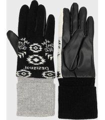guantes multicolor desigual