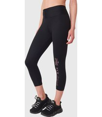 legging everlast mid angel negro - calce ajustado