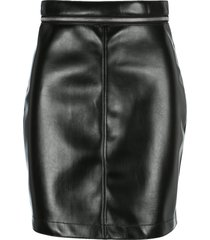 philosophy zipped waist mini skirt