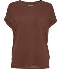 kajsa t-shirt t-shirts & tops short-sleeved brun culture